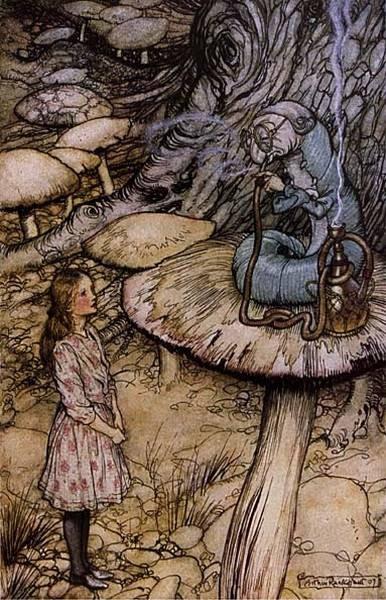 Alice in Wonderland The Rabbit Sends in a Little Bill